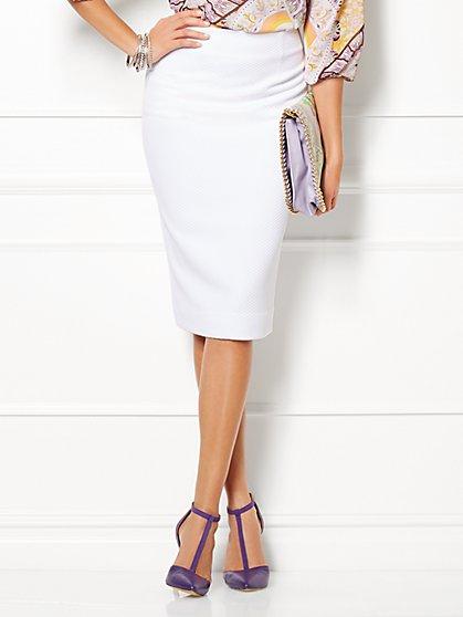 Eva Mendes Collection - Nina Piqué Skirt  - New York & Company