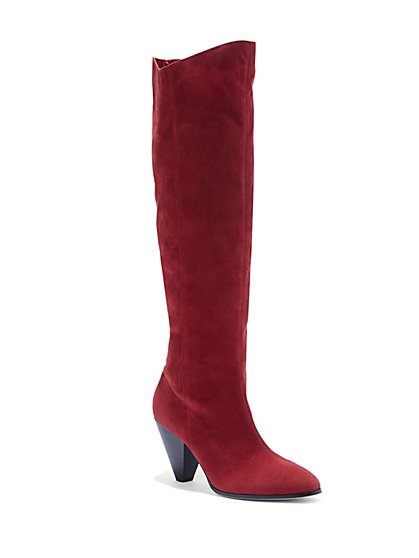 Eva Mendes Collection - Oxford Slouch Boot - New York & Company