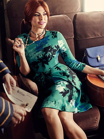 Eva Mendes Collection - Parker Flare Dress - New York & Company