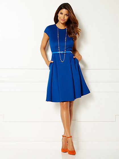 Eva Mendes Collection - Parker Skater Dress  - New York & Company