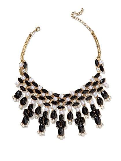Eva Mendes Collection - Pearl & Bead Collar Necklace - New York & Company