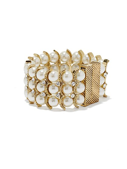 Eva Mendes Collection - Pearl Bracelet - New York & Company