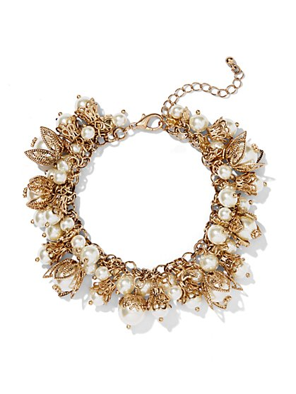 Eva Mendes Collection - Pearl Jangle Bracelet  - New York & Company