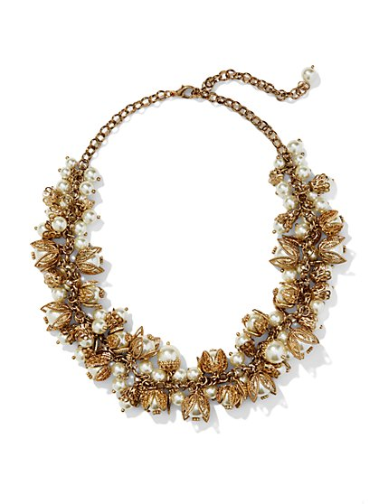 Eva Mendes Collection - Pearl Jangle Necklace  - New York & Company
