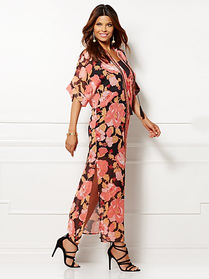 Eva Mendes Collection - Peggi Caftan Dress - New York & Company