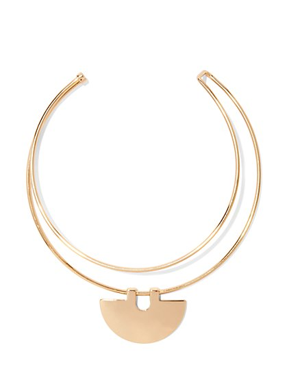 Eva Mendes Collection - Pendant Collar Necklace  - New York & Company