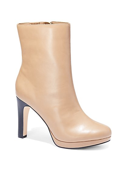 Eva Mendes Collection - Platform Ankle Boot  - New York & Company