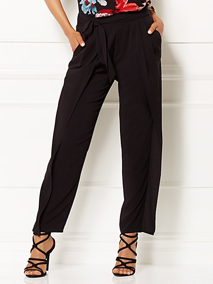 Eva Mendes Collection - Prema Wrap Pant  - New York & Company