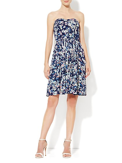 Eva Mendes Collection - Rebecca Dress - Midnight Garden Print - New York & Company