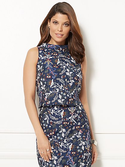Eva Mendes Collection - Reese Jacquard Top - New York & Company