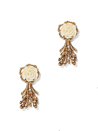 Eva Mendes Collection - Rosette Earring  - New York & Company