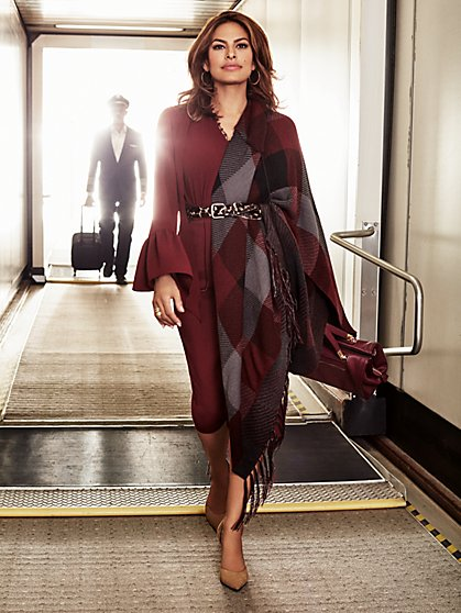 Eva Mendes Collection - Ryleigh Cape  - New York & Company