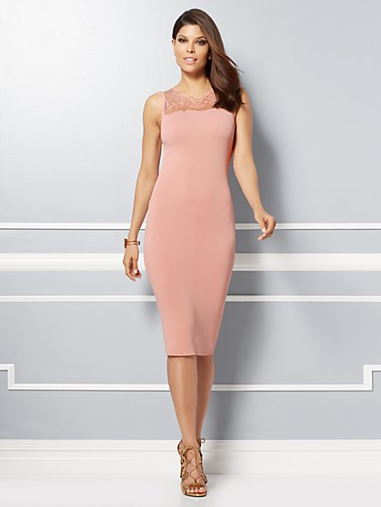 Eva Mendes Collection - Sabina Sweater Sheath Dress - New York & Company