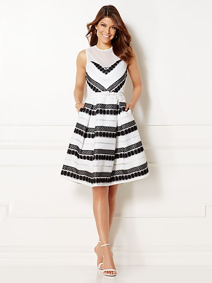 Eva Mendes Collection - Sabine Flare Dress  - New York & Company