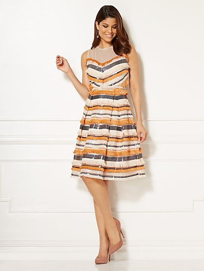 Eva Mendes Collection - Sabine Fringe Dress - New York & Company
