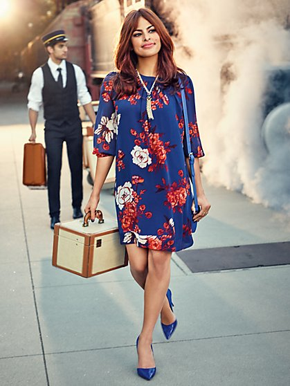 Eva Mendes Collection - Sabrina Dress - Floral  - New York & Company