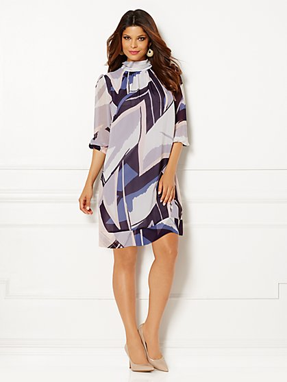 Eva Mendes Collection - Sabrina Dress - Print - New York & Company