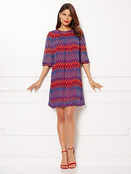 Eva Mendes Collection - Sabrina Dress - Zigzag - New York & Company
