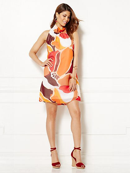 Eva Mendes Collection - Sabrina Sleeveless Dress - Aztec Print  - New York & Company