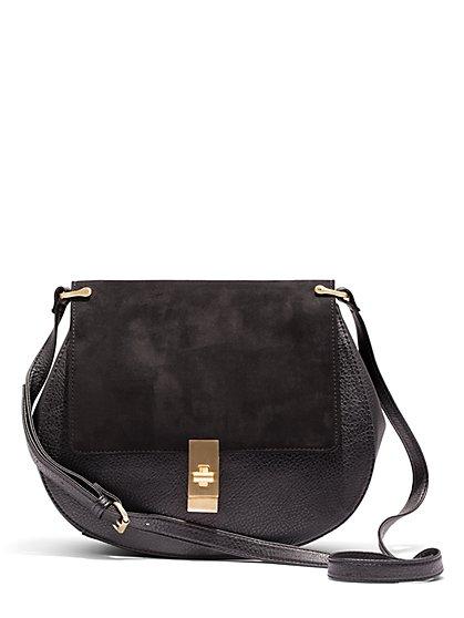 Eva Mendes Collection - Saddle Bag   - New York & Company