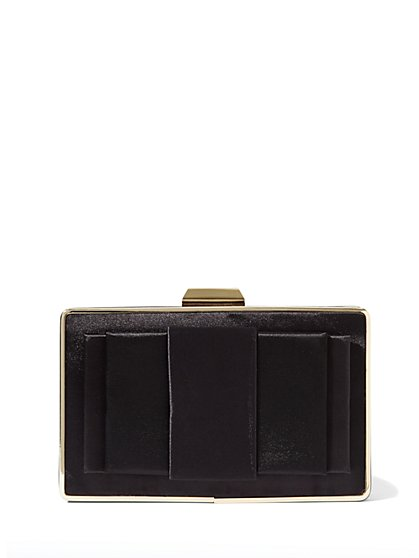 Eva Mendes Collection - Satin Bow Clutch - New York & Company