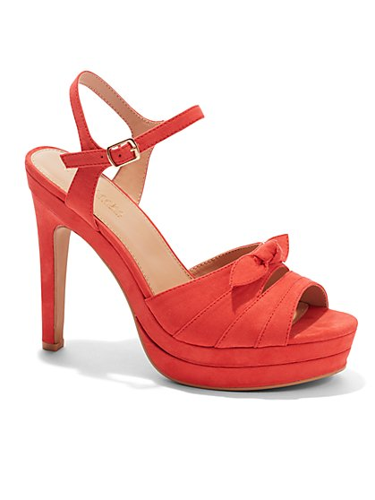 Eva Mendes Collection - Sevilla Bow Sandal   - New York & Company
