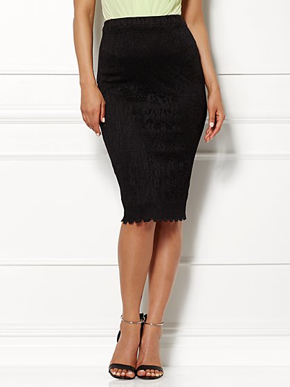 Eva Mendes Collection - Sia Lace Skirt  - New York & Company