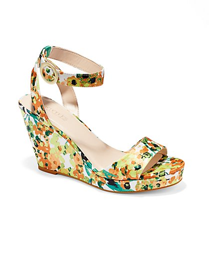 Eva Mendes Collection - Sicily Wedge - New York & Company