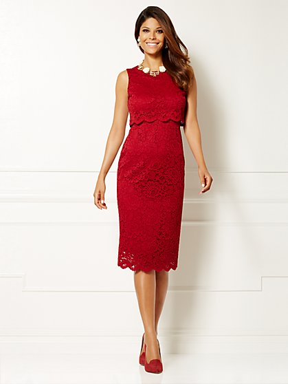 Eva Mendes Collection - Siena Lace Dress  - New York & Company