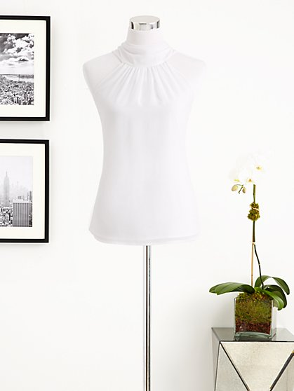 Eva Mendes Collection - Silky Halter Top - New York & Company