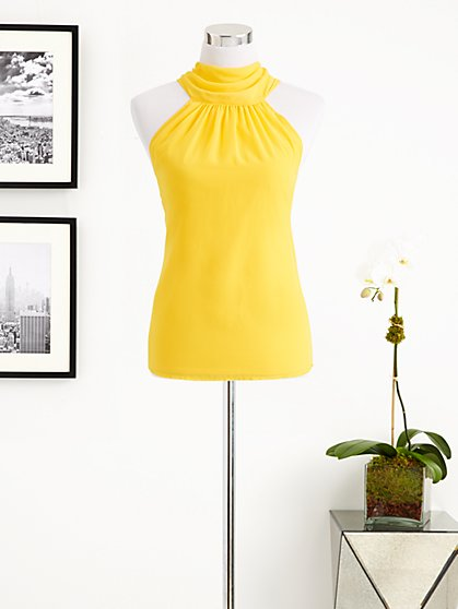 Eva Mendes Collection - Silky Halter Top