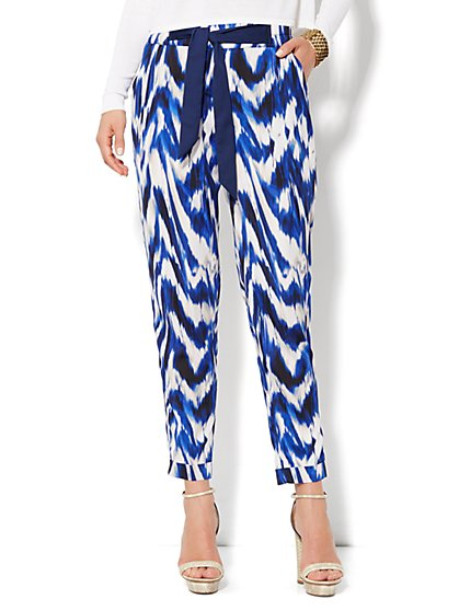 Eva Mendes Collection - Soft Tie-Waist Pant - New York & Company