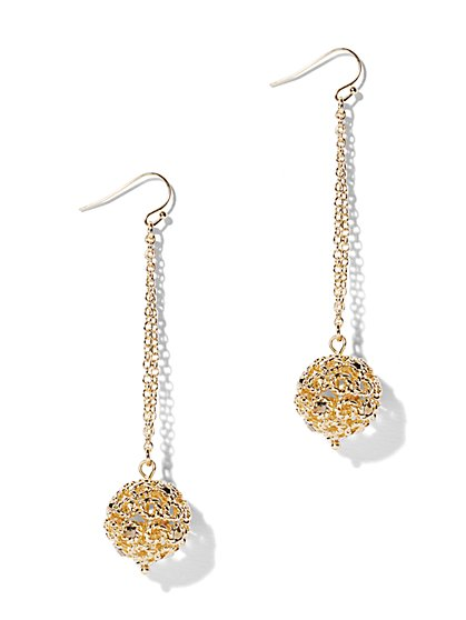 Eva Mendes Collection - Sphere Drop Earring - New York & Company