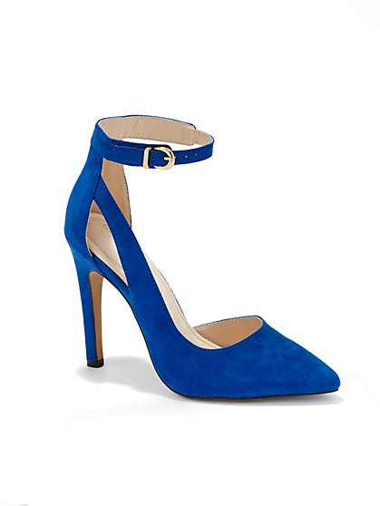 Eva Mendes Collection - St. Germain Ankle-Strap Pump  - New York & Company