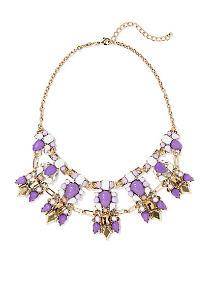Eva Mendes Collection - Statement Bib Necklace - New York & Company