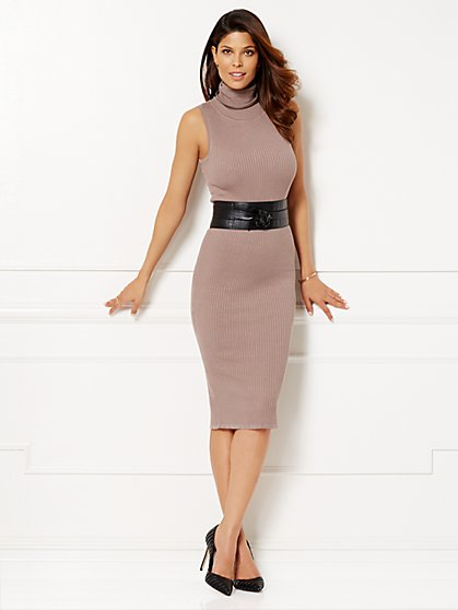 Eva Mendes Collection - Tali Sweater Dress  - New York & Company