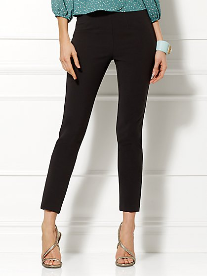 Eva Mendes Collection - Taylor High-Waist Slim Pant  - New York & Company