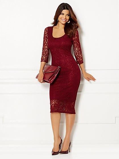Eva Mendes Collection - Trina Lace Sheath Dress - New York & Company