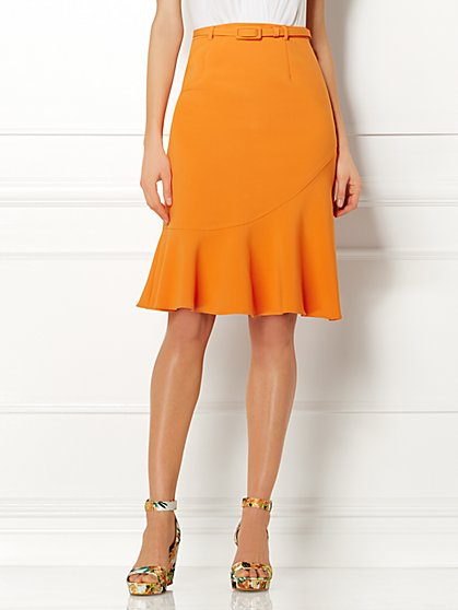 Eva Mendes Collection - Veneto Ruffle Skirt  - New York & Company