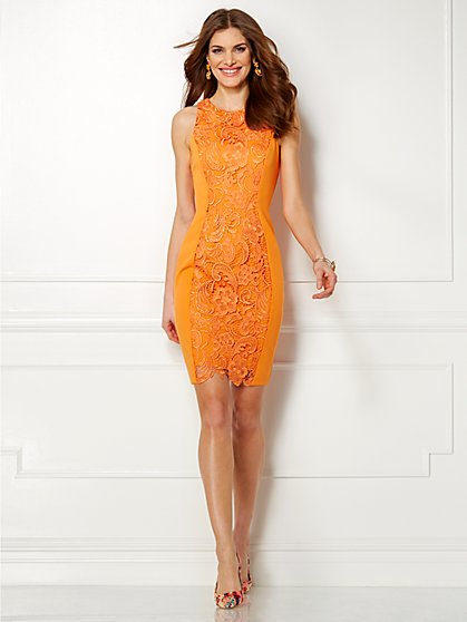 Eva Mendes Collection - Vivienne Lace Sheath Dress  - New York & Company