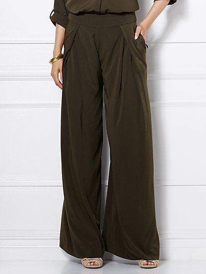 Eva Mendes Collection - Wide-Leg Pant  - New York & Company