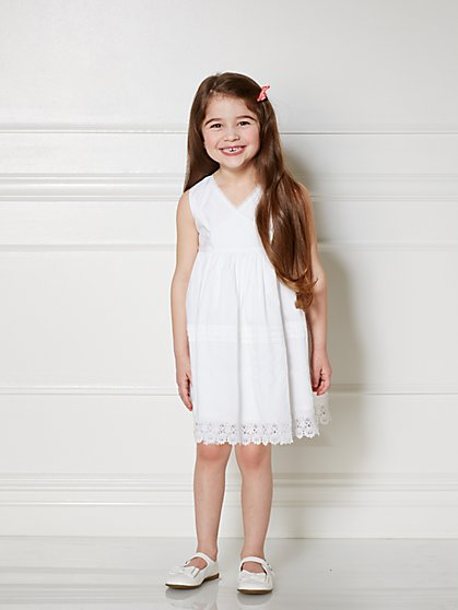 Eva Mendes Mini Collection - Mini Bridgette Dress - 4T - New York & Company