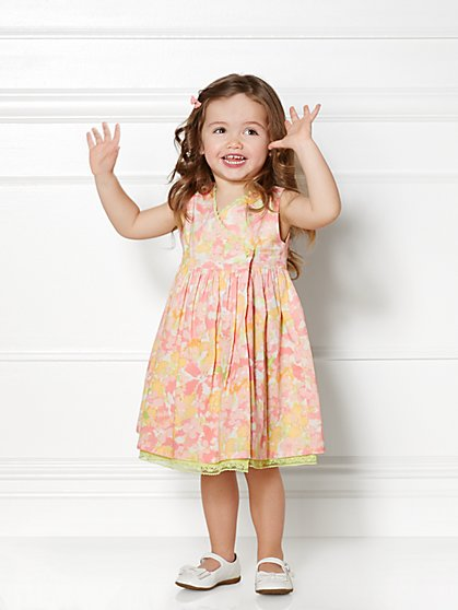 Eva Mendes Mini Collection - Mini Nicki Dress - 4T  - New York & Company