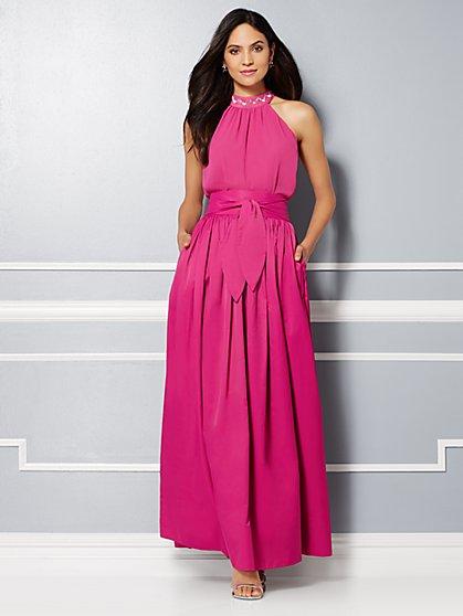 Eva Mendes Party Collection - Chiffon Halter Top  - New York & Company