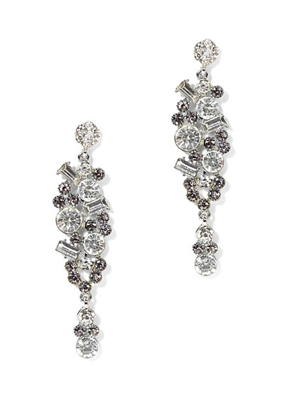 Eva Mendes Party Collection - Dazzling Drop Earring - New York & Company