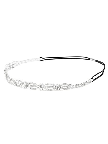 Eva Mendes Party Collection - Glittering Stretch Headband  - New York & Company