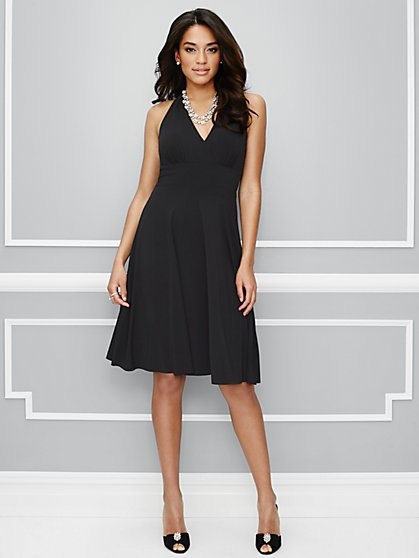 Eva Mendes Party Collection - Harlow Halter Dress  - New York & Company