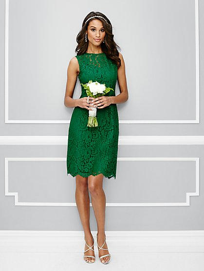 Eva Mendes Party Collection - Jackie Bow-Back Dress - New York & Company