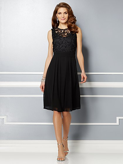 Eva Mendes Party Collection - Karrie Lace Dress - New York & Company