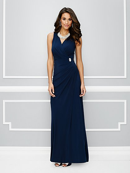 Eva Mendes Party Collection - Lucia Wrap Dress  - New York & Company